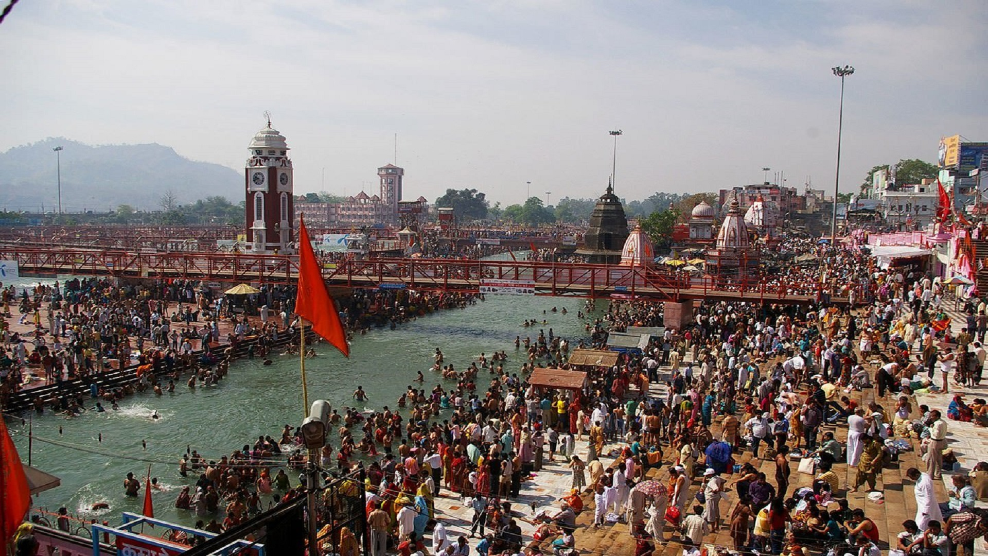 """Kumbh Mela (the festival of the sacred Pitcher) is the largest peaceful congregation of pilgrims on earth"""