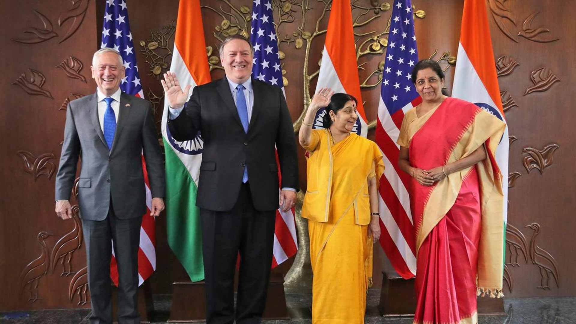 """""""We fully support India's rise as a leading global power."""""""